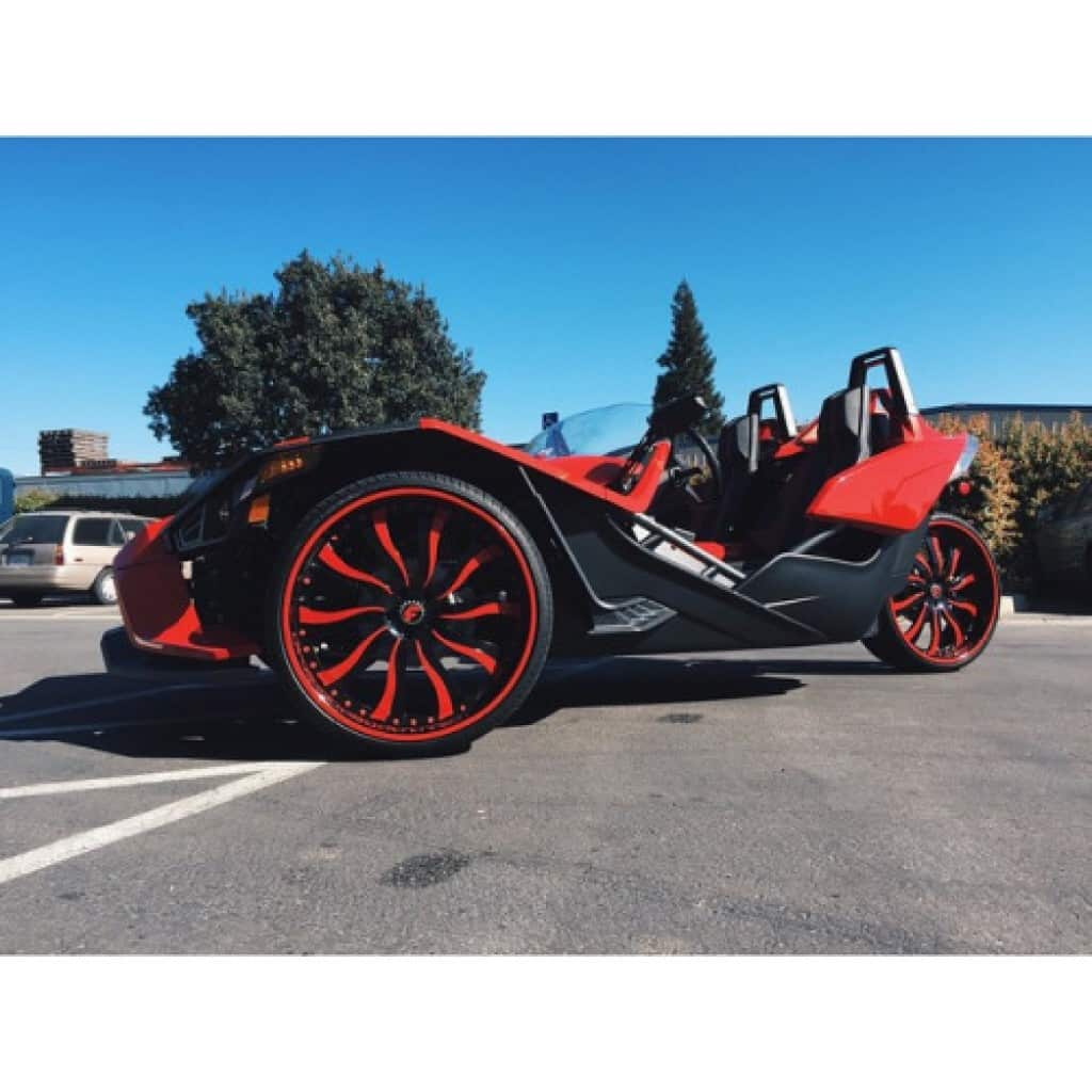 Polaris Slingshot Rental Las Vegas ⋆ Unlimited Miles ⋆ No