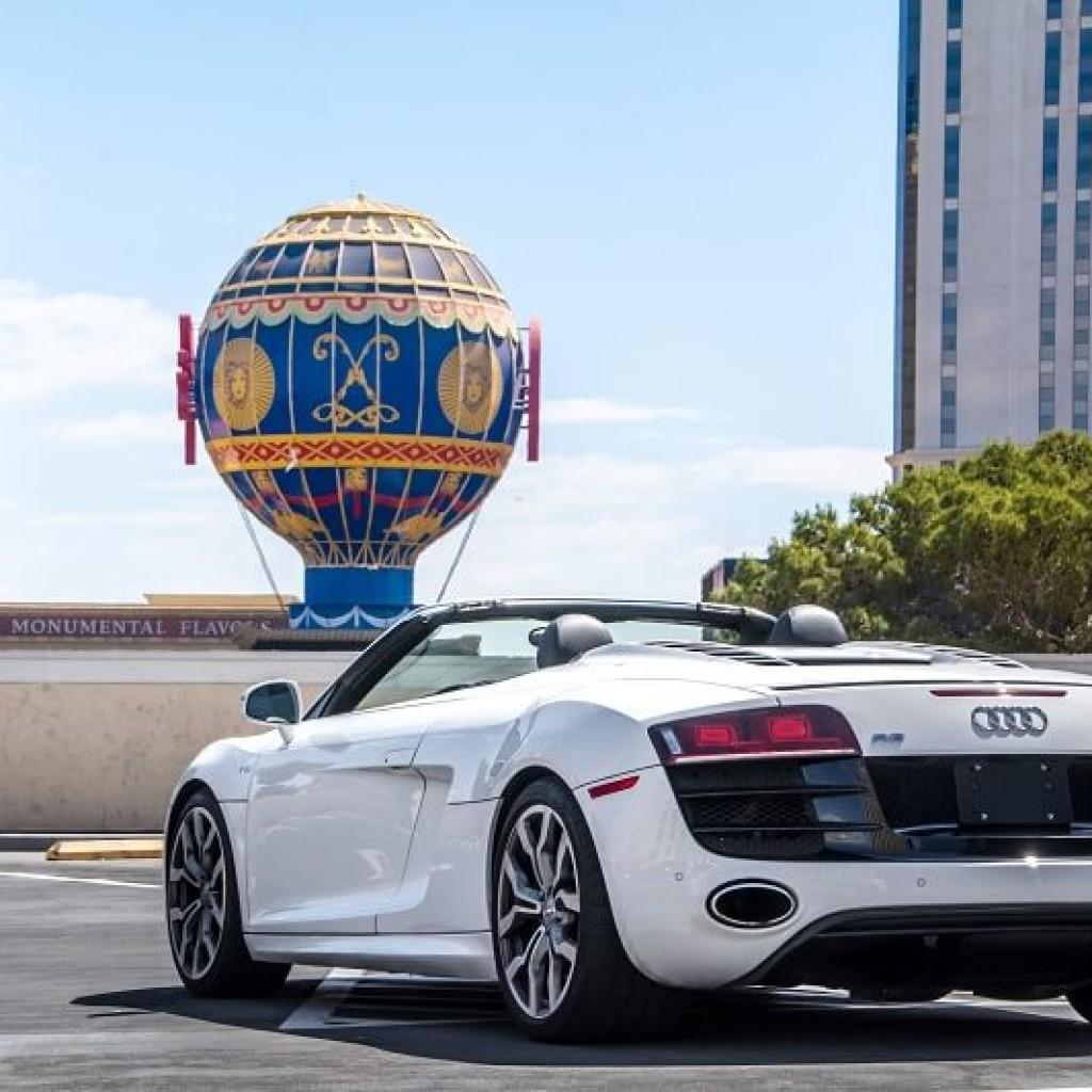 Audi R8 Las Vegas rental
