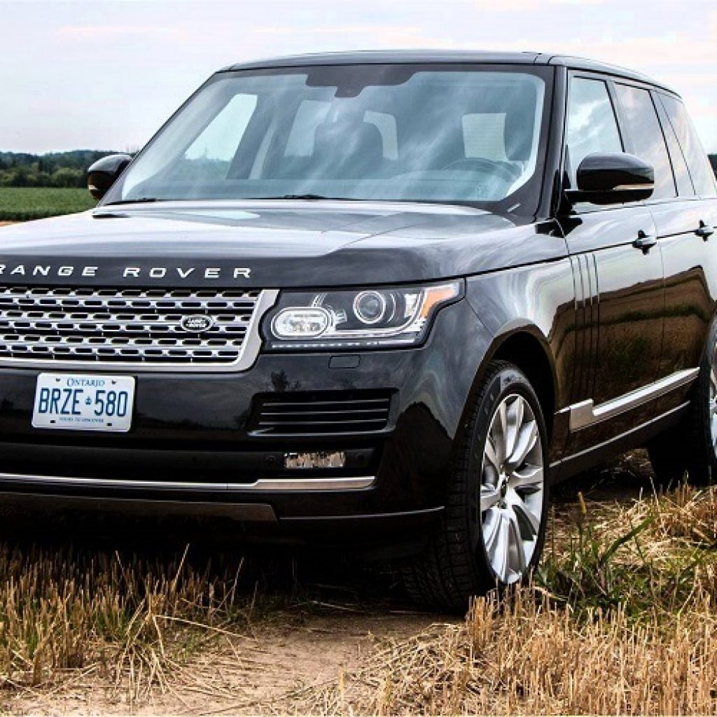 land rover supercharged