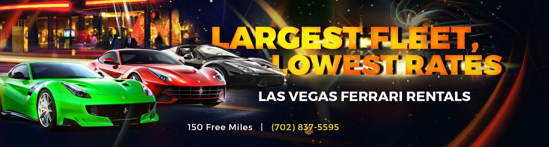 Exotic Car Rental Las Vegas Strip
