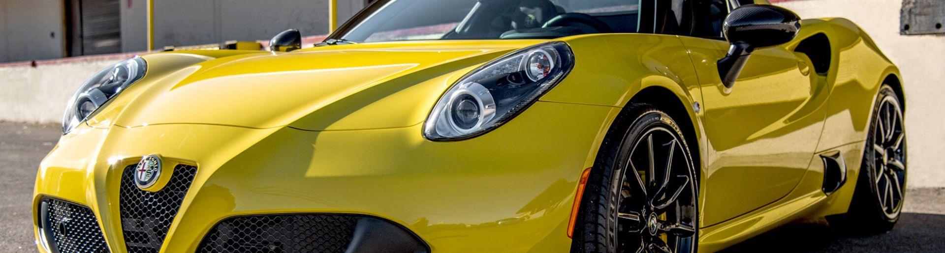Alfa Romeo C4 Spider Rental Las Vegas Exotic Cars Vegas
